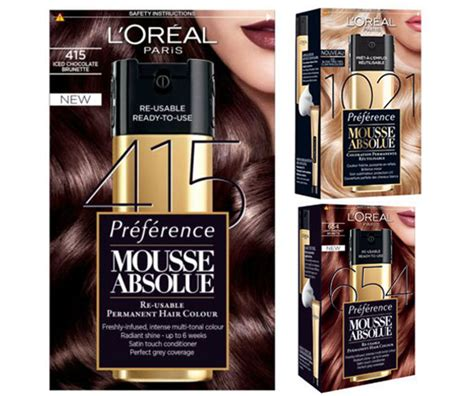 mousse hair color l oreal s new reusable haircolor changes everything