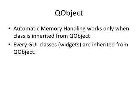qt layout memory management qt memory management signal and slots