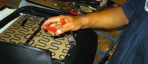 how did you learn auto upholstery