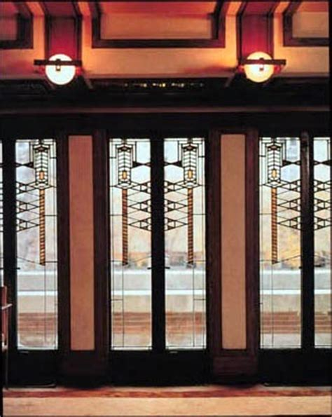 robie house windows art now and then the robie house chicago illinois