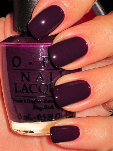 plum nail color black swan opi nail colors i