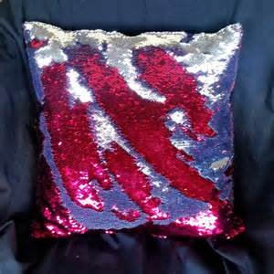 color changing pillow mermaid pillow stuffed 10x10 12x12 14x14 by esotericrhythms