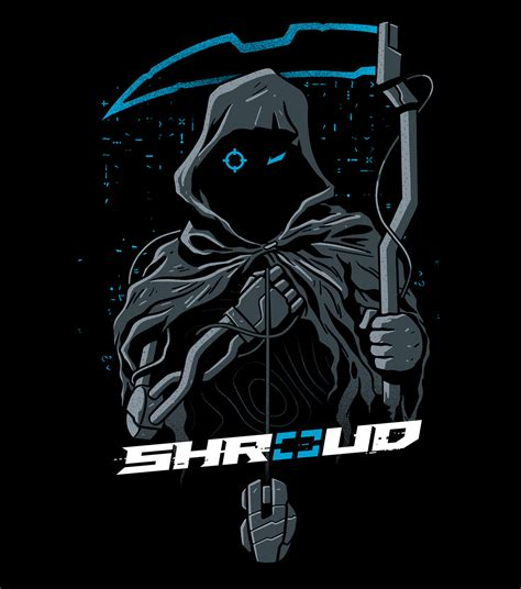shroud  jnx collab  behance