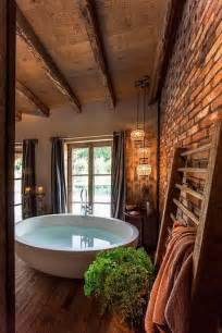 Funky Red Barn 33 Bathroom Designs With Brick Wall Tiles Ultimate Home
