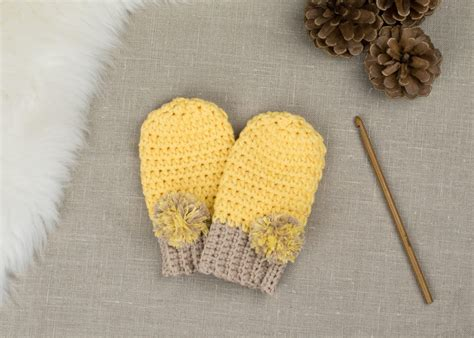crochet how free pattern how to crochet baby mittens croby patterns