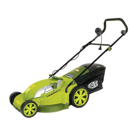 sun joe mow joe 17 in 13 corded electric push mower