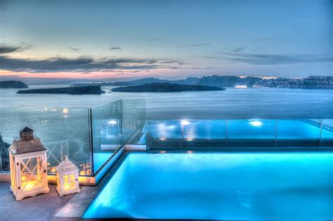 Diy Bathroom Floor Ideas 10 Best Hotel Infinity Pools In Santorini