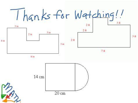 perimeter of compound shapes ks2 worksheets free