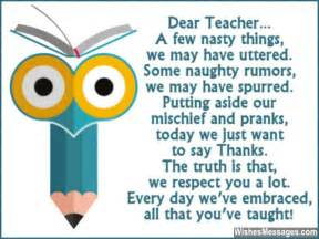 Thank You Letter Speech Teacher retirement wishes for teachers messages for teachers and professors