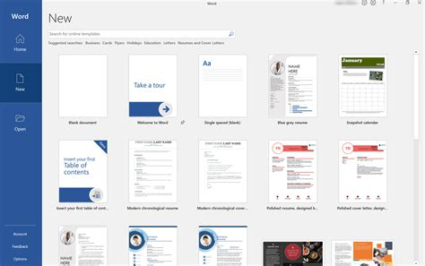 find microsoft word templates office