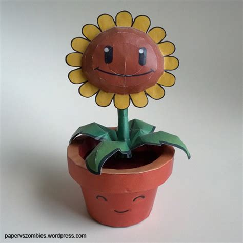 Plants Vs Zombies Paper Crafts - paper vs zombies a site about pvz paper craft page 2
