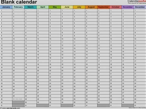 6 week calendar template free blank 6 week calendar template printable 2 planner