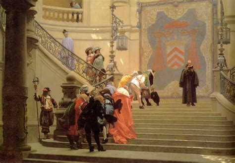 Artist L by The Grey Cardinal Jean Gerome History Painting