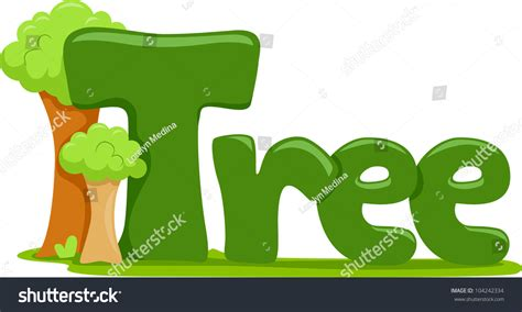 clipart in word tree clipart word pencil and in color tree clipart word