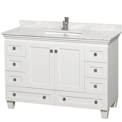 Acclaim white bathroom vanity top decobizz com