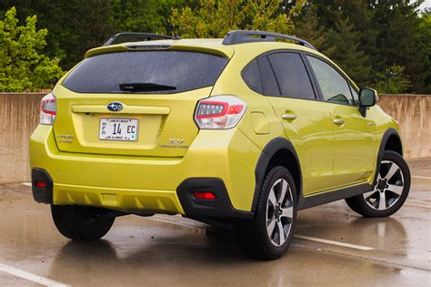 subaru hybrid crosstrek black capsule review 2014 subaru crosstrek hybrid the truth