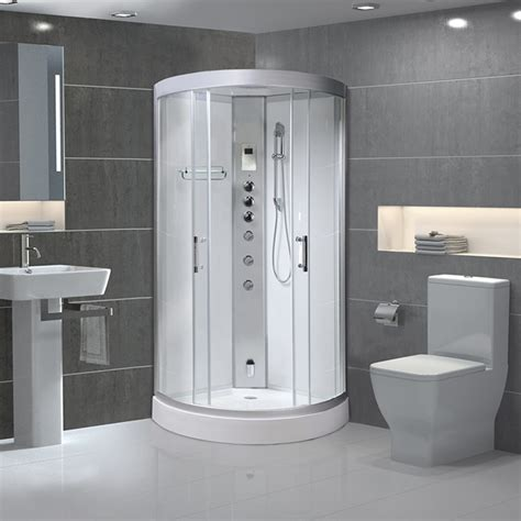 600x600 Shower Cubicle by Image Steam Shower Cabin