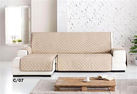 cubre sofas chaise longue funda cubre sof 225 s chaise longue quot quot reversible medidas
