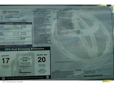 Toyota Vin Check Toyota Monroney Sticker By Vin Number Autos Post