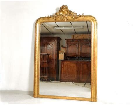 Mirror Fireplace by Large Wood Fireplace Mirror Gilded Stucco Shell Flowers