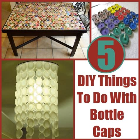 5 diy things to do with bottle caps diy home things