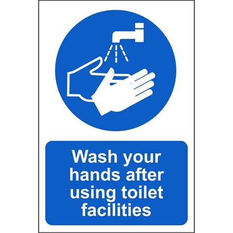 not washing hands after using the bathroom wash your after using toilet signs food hygiene