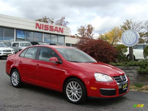 red volkswagen jetta 2008 2008 volkswagen jetta wolfsburg edition sedan in salsa red