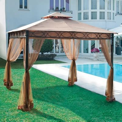 gazebo grancasa garden collection gazebo e ombrelloni gazebo marte 3x3