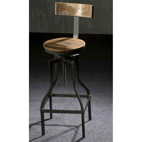 Tabouret Haut Industriel tabouret de bar style industriel mobilier style