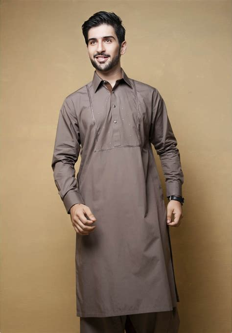 kurta button pattern new men kurta shalwar kameez designs collection for eid