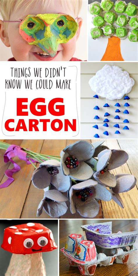 crafts with egg cartons 20 things you can do with an egg