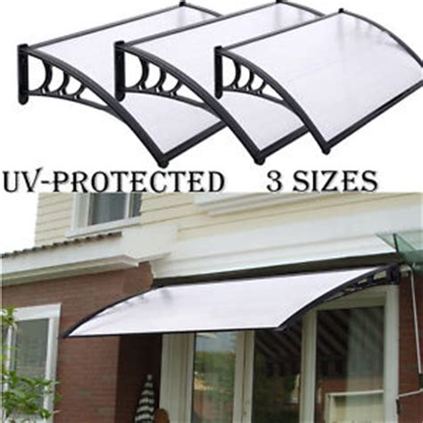 front door canopy kits new door canopy awning shelter front and back door awning