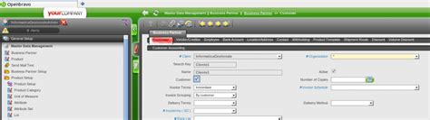 sistema accesso clienti openbravo accesso come amministratore di sistema