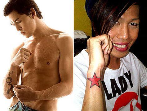 Vice Ganda Tattoo On Neck | photos pinoy celebrity tattoos spot ph