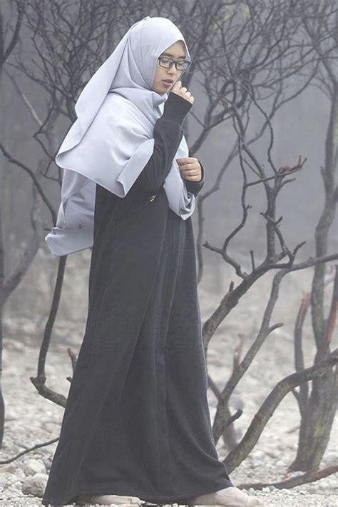 Ghaida Dress Hitam gamis windy hitam alila gamis syar i fesya