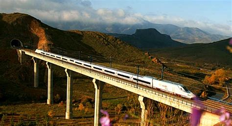 barcelona madrid train ave high speed train