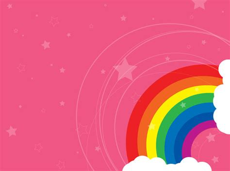 pink rainbow wallpaper gallery