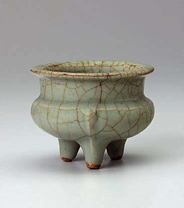 song ware tripod vessel 13th century by ge ware the collection