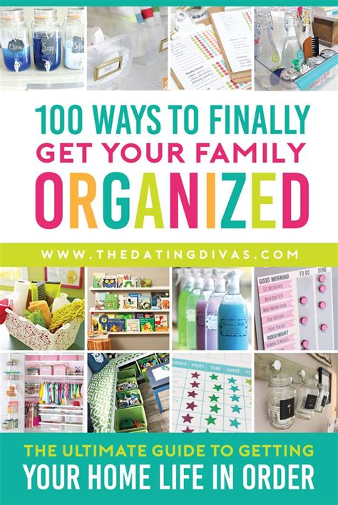 helping your kids get organized this new year 100 organization tips to finally get your family in order