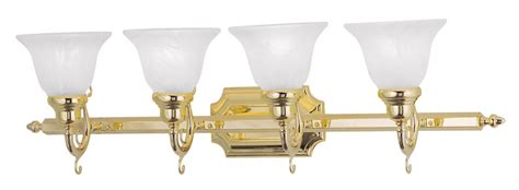 french bathroom light fixtures polished brass 4 light livex french regency bathroom