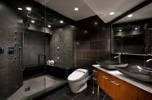 15 amazing black bathroom designs