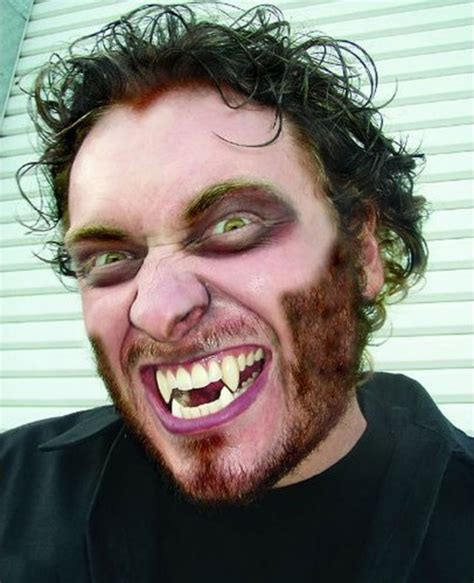 werewolf fangs tutorial fang makeup for halloween tutorials and tips hubpages