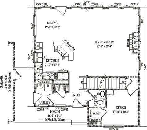 redstone by wardcraft homes two story floorplan