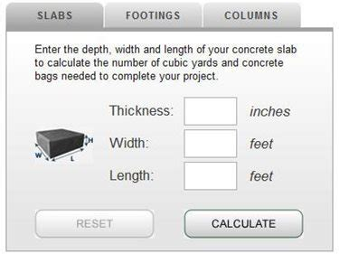 how much concrete calculator and tips for estimating the concrete network