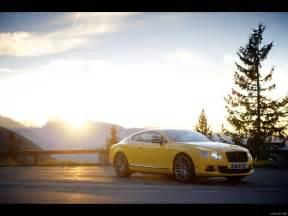 bentley yellow 2013 bentley continental gt speed yellow front hd