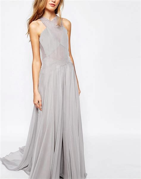 D Rahma Maxi fame and partners fame and partners drama maxi dress with open back at asos