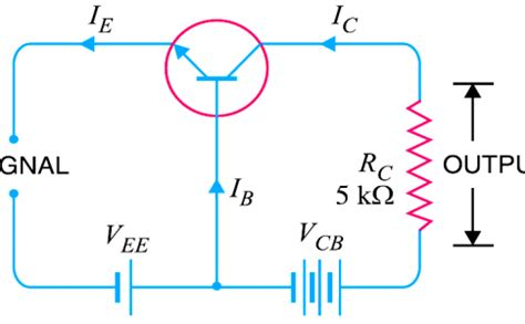 transistor as lifier working of npn transistor engineering tutorial