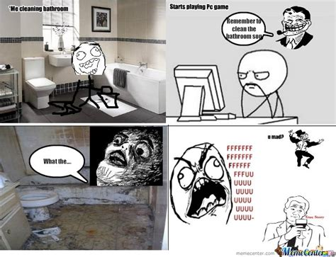 bathroom troll bathroom troll dad by jordan williams meme center