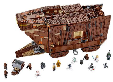 Figure Model Kit Playmobil Pit Mandi Bola lego wars sandcrawler is official technabob