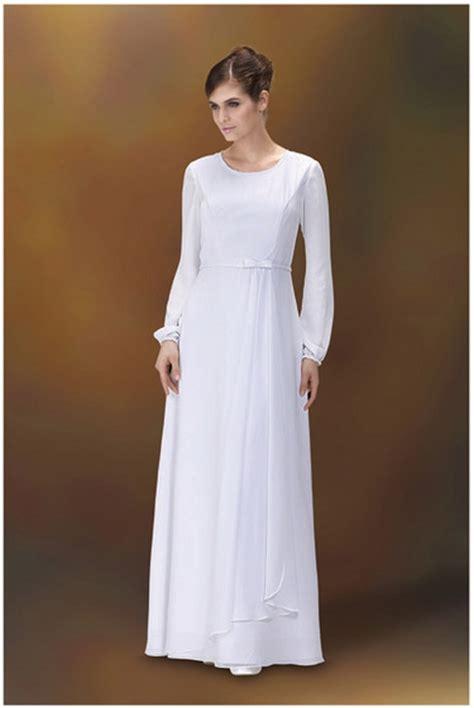 Lds Wedding Dress by Lds Temple Wedding Dresses